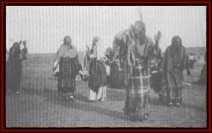 Arapaho women performing the Ghost Dance, ca.1893