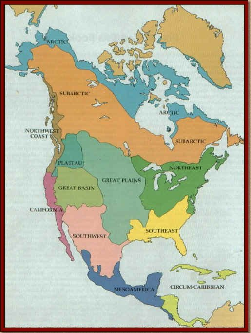 Native American Culture Map-Contents