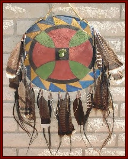Native american shields click on image for full size view sciox Image collections