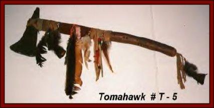 native american weapons tomahawks